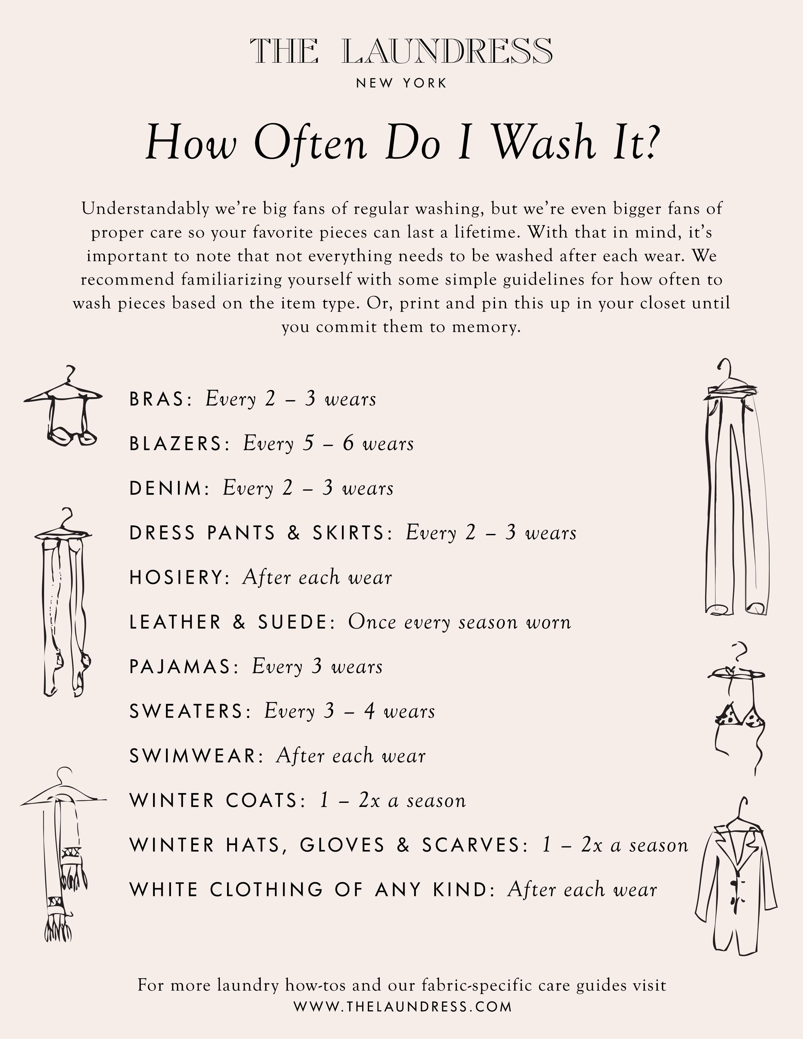 How Often Do I Wash It Cleaning Hacks House Cleaning Tips Clean House