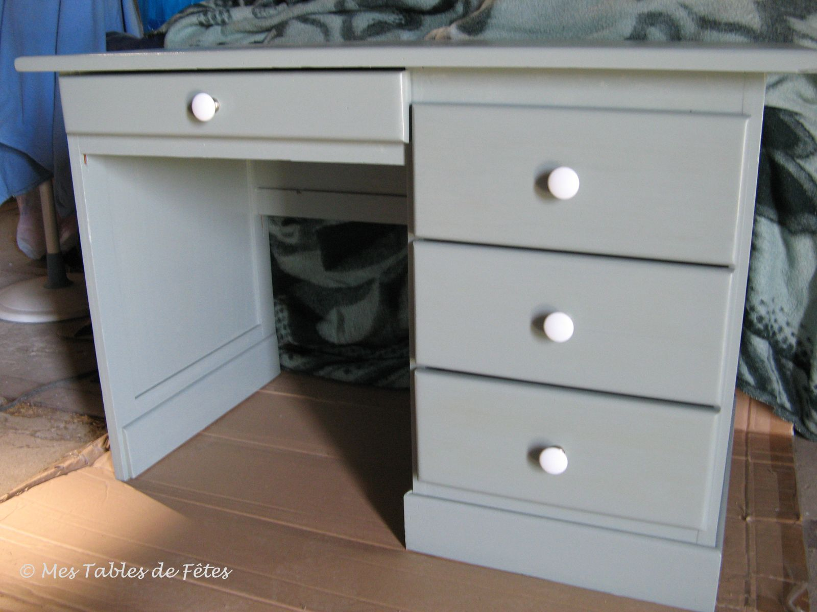Bureau En Pin Relook Instructions De Montage Bosch Meubles  # Montage De Meuble
