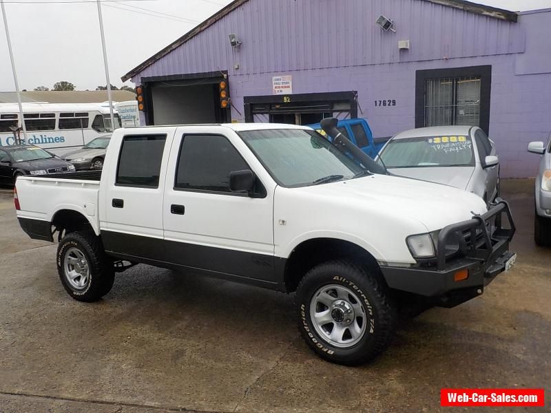 1999 HOLDEN RODEO 4X4 DUAL FUEL 5 SP MANUAL LIFTED DIFF LOCK BULL ...