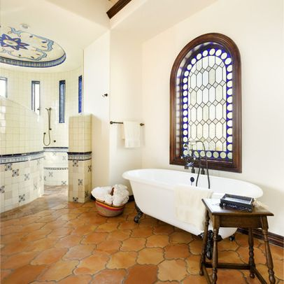 Home Design Ideas Pictures Remodel And Decor Spanish Style Bathrooms Spanish Style Homes Mediterranean Bathroom