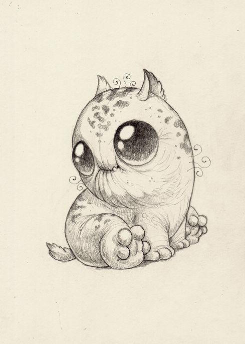 Pin By Shel Shel On Illustration Cute Monsters