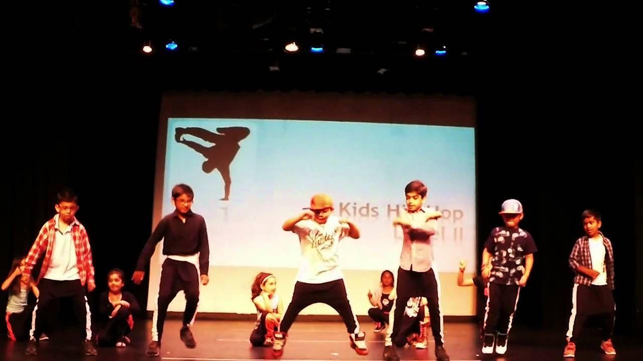 Hiphop kids recital by 4ever Dance Studio