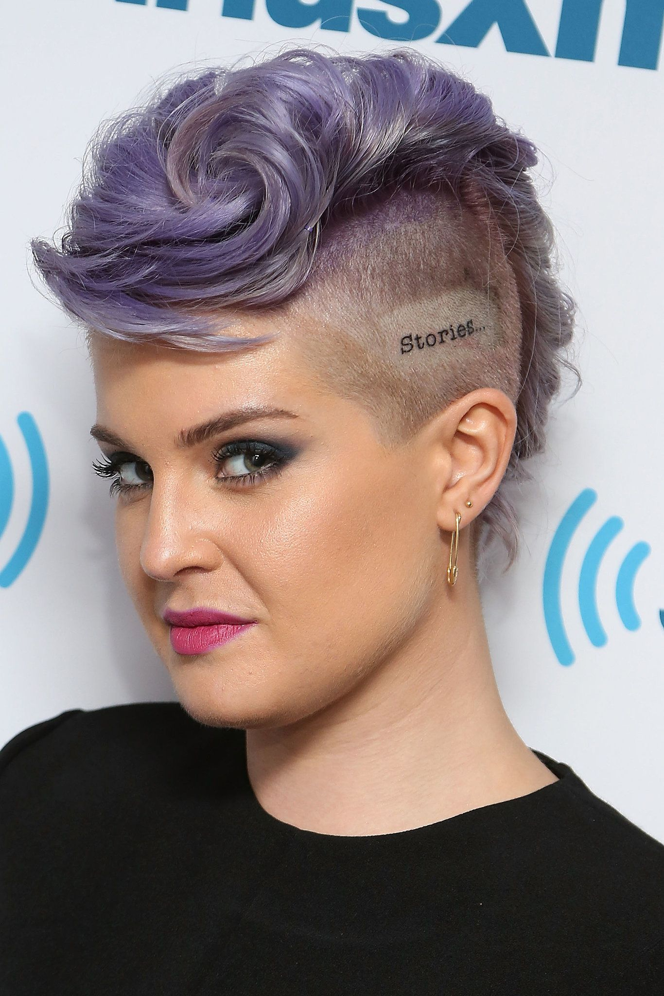 Kelly osbourne men hair cuts pinterest mohawk hairstyles