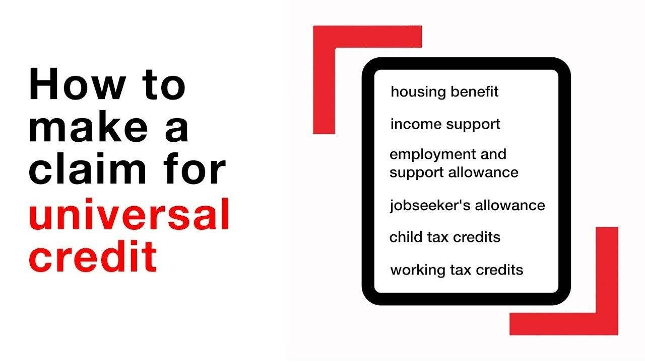 How To Claim Universal Credit Universal Credit Child Tax Credit