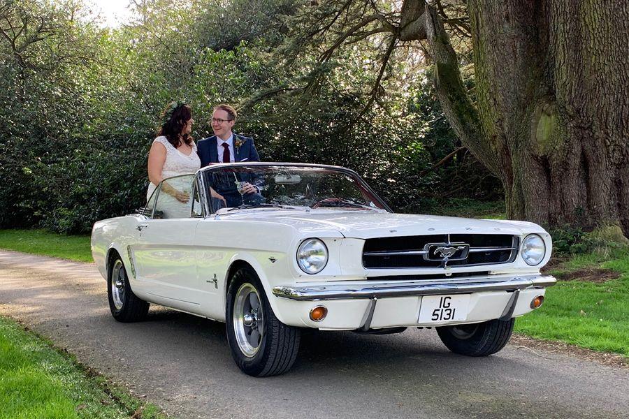 1965 Ford Mustang Convertible Wedding Car Hire Ni Car Hire Mustang Mustang Convertible