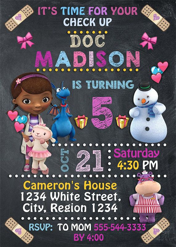Doc mcstuffins invitation for doc mcstuffins birthday party doc mcstuffins invitation for doc mcstuffins birthday party printable digital file this listing is for the creation and delivery of personalized d solutioingenieria Gallery
