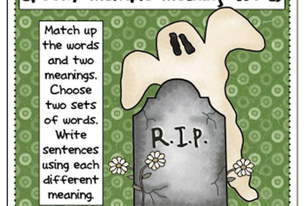 Multiple Meaning Word FREEBIE! by The Primary Gal   TpT