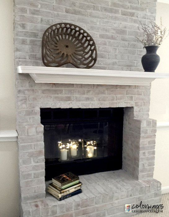 Diy Easy Fireplace Makeover Idea Brick Fireplace Makeover Fireplace Update Fireplace Makeover