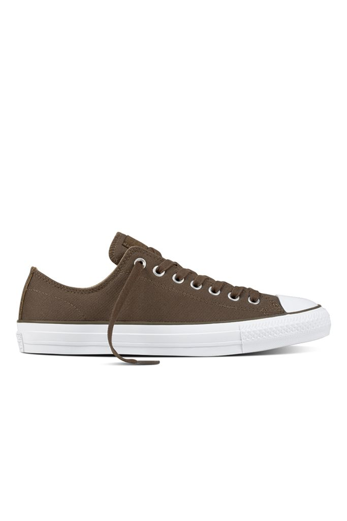 6e278e0416b9 Converse - CONS CTAS Pro OX Suede Backed Twill Colorway  Engine Smoke    Sandy