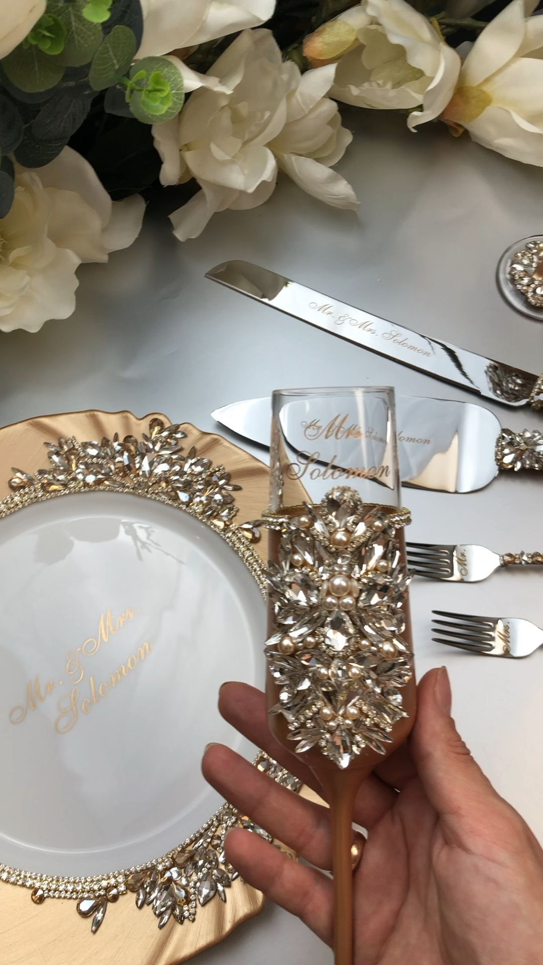 15++ Cake cutting set with flutes trends