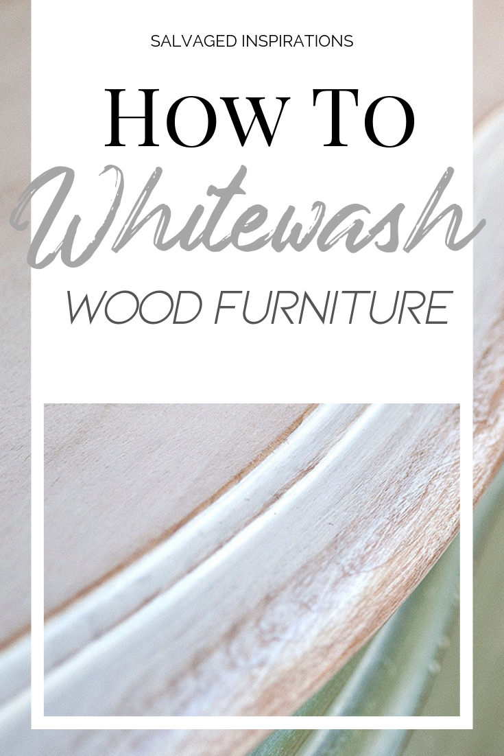 How To Whitewash Wood Furniture White Washed Furniture Diy Furniture Renovation Whitewash Wood