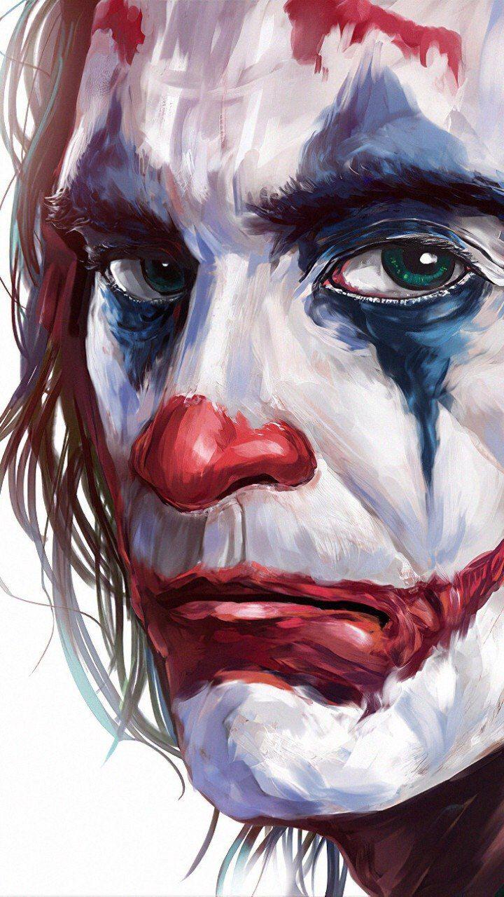 📱 Art Edit Of Joaquin Phoenix As The Joker 🃏📸