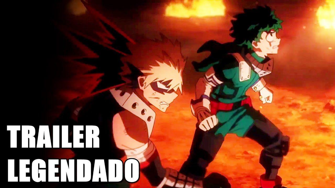My Hero Academia Heroes Rising Trailer Final Do Filme Legendado