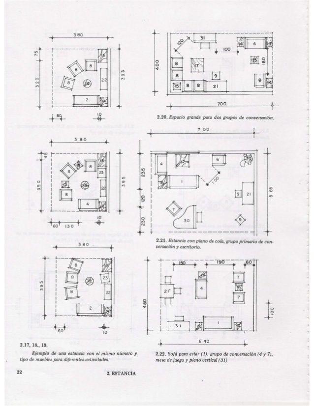 las medidas de una casa xavier fonseca arq ergonom a