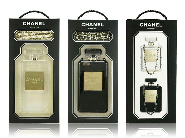IPhone 4 &4S&5 Chanel 2014 Neue Parfüm Flasche Case Hülle Mit Golden Kette neuele.de