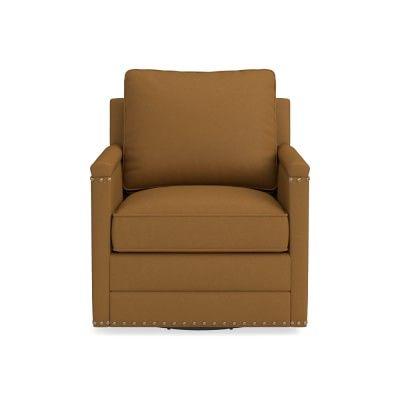 Fantastic Addison Swivel Chair Nailhead Standard Cushion Sunbrella Pabps2019 Chair Design Images Pabps2019Com