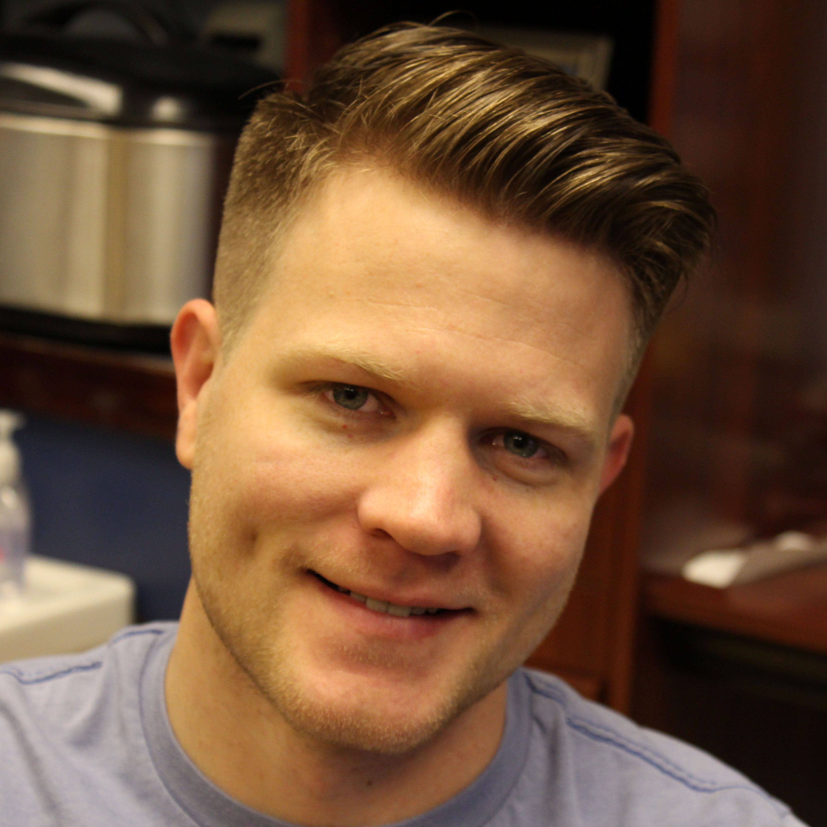 Hairstyles For Men To The Side Short Pompadour Haircut Mens Hair Pinterest Modern