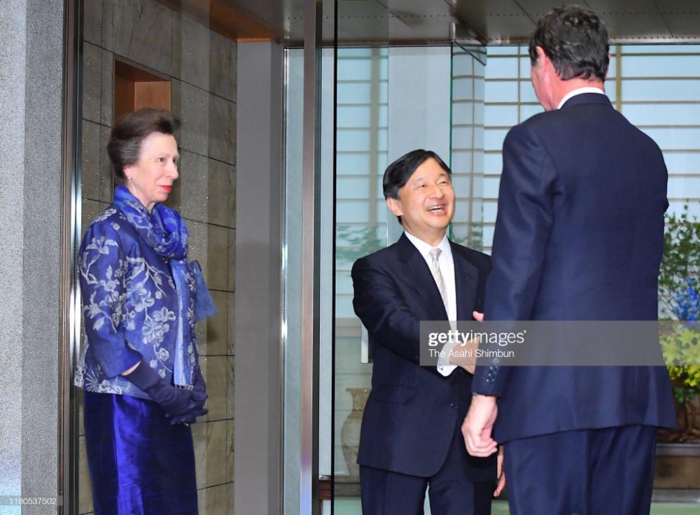 Princess Anne, Princess Royal and her husband Timothy
