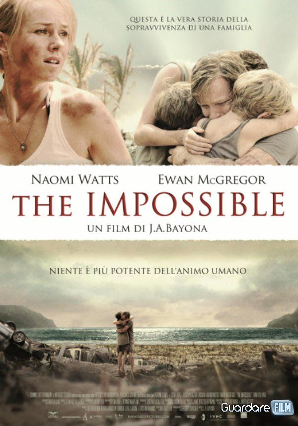 The Impossible (2012) in streaming
