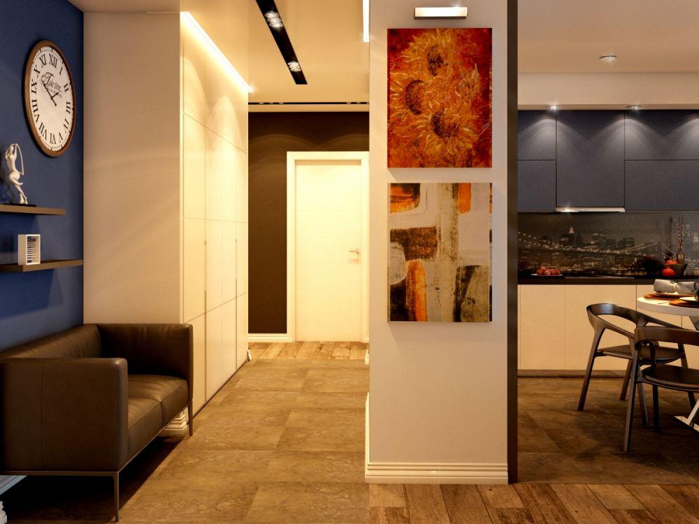 Дизайн интерьера квартиры с элементами лофта / Интерьер / Архимир