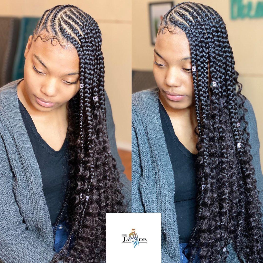 35++ Medium size lemonade braids ideas
