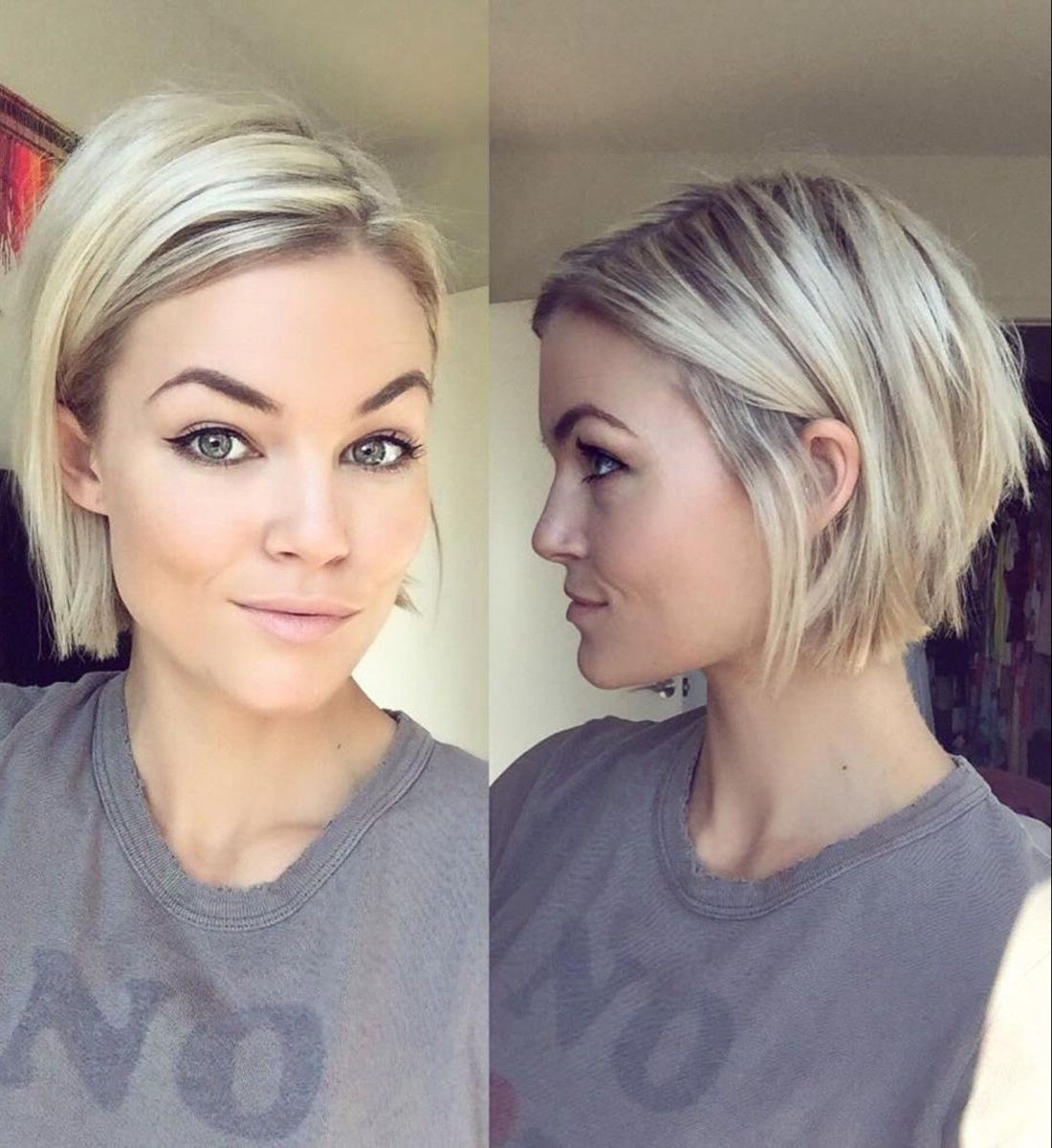100 Mind Blowing Short Hairstyles For Fine Hair In 2020 Modern Short Hairstyles Short Straight Bob Hairstyles Thick Hair Styles