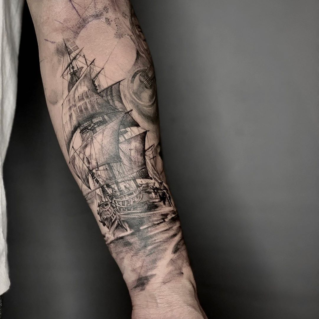 《船》 我真的恨透了反光  4、5月刺青歡迎討論預約🙏  #scorpino #scorpiontattoo #leaves #realistictattoos #realistic #blackandgreyink #blackworktattoo #tattooedgirls #tattooideas #dotworktattoos #tattoodo #tattooistartmag #inkedmag #radtattoos #tttism #tattoomodel #tattooink #tattoo2me #tattoomodel #iblackwork #blackworkerssubmissions #inkdrawing #inkeeze #artesobscurae #animaliatattoo #arachnidatattoo #船 #寫實 #寫實刺青 #包手  @tattoorealistic @tattooselection @tattoo2me @tattooloverscare
