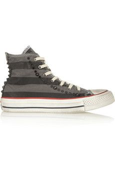 d1992f8b923db0 Converse Chuck Taylor studded canvas high-top sneakers