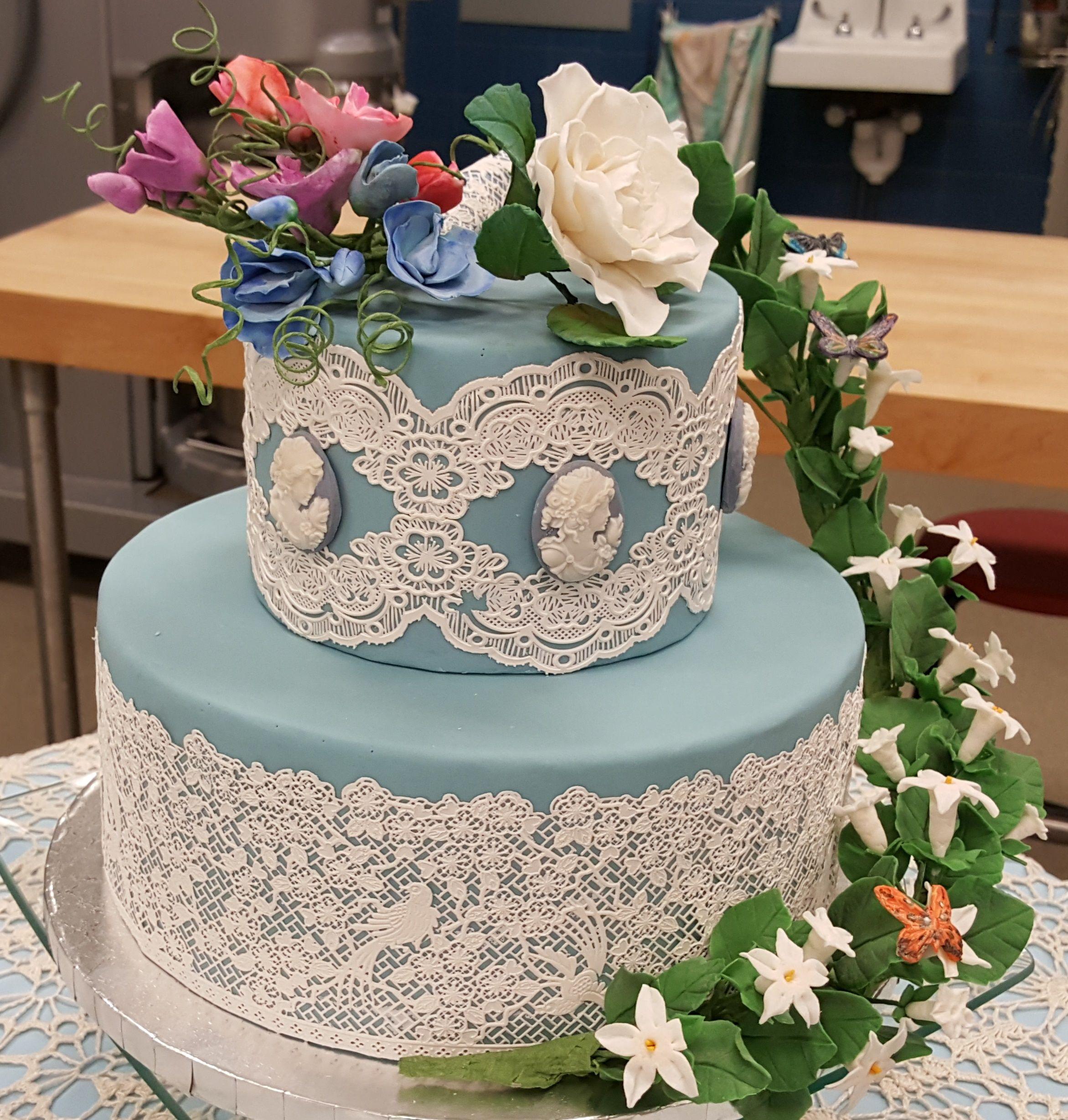 Chef claire chapmanus wedding cake class spring wedding cakes