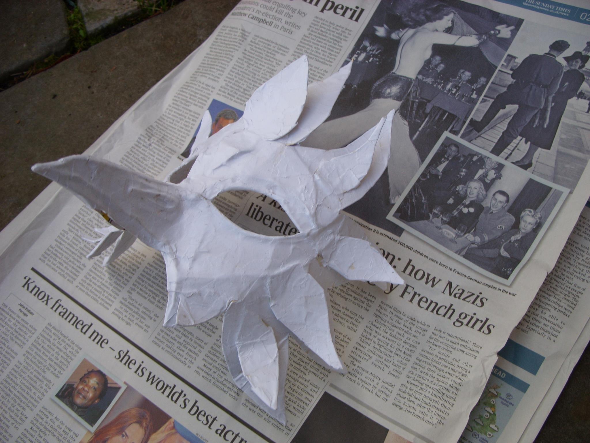 Mask making Halloween 2011 | Facepainting & Fancy Dress ...