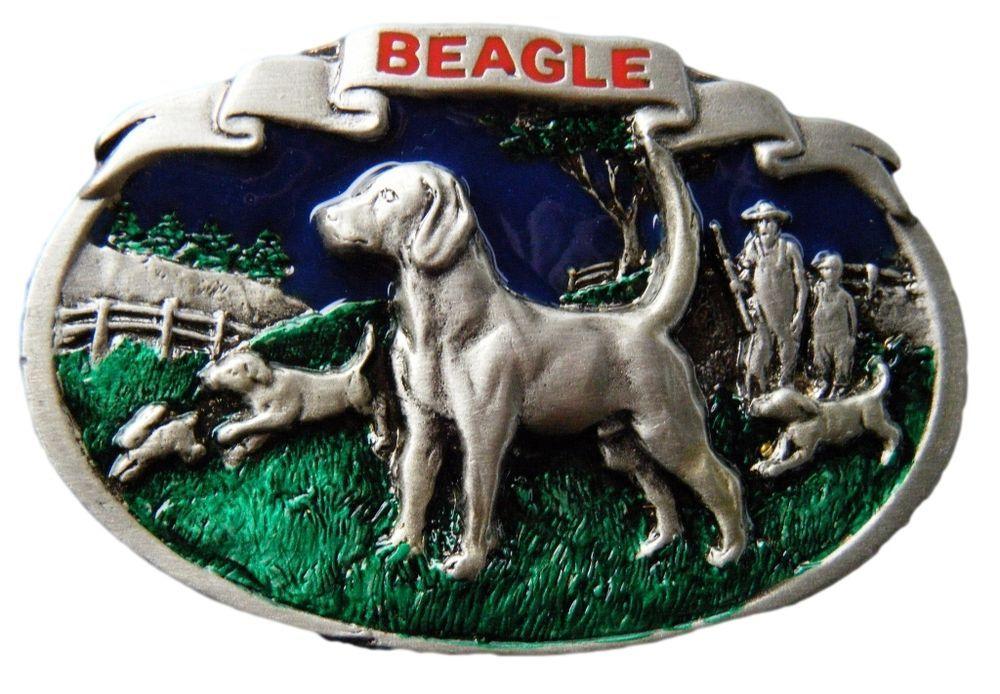Beagle Dog Hunter Hunting Farm Dogs Animal House Pets Belt Buckle Belts Buckles #CoolBuckles #beagle #huntingdog #hunter #chaser #beltbuckle