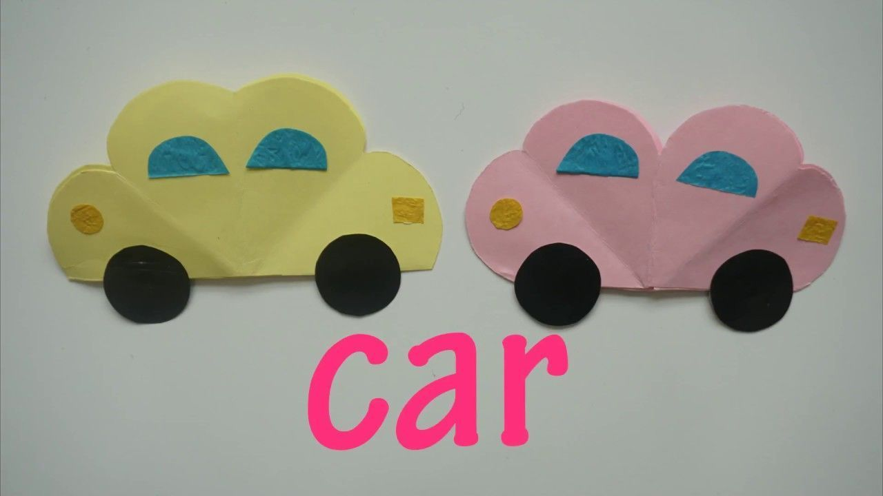 Art And Craft Ideas Car Paper Craft Art Artsandcrafts Arts
