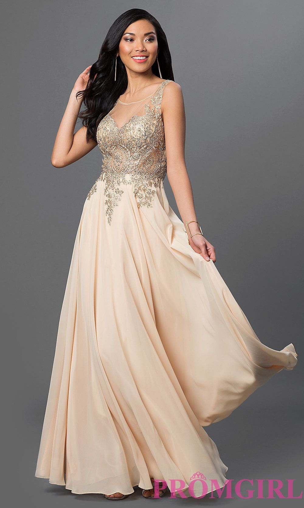 Let's Evening Gown Chiffon
