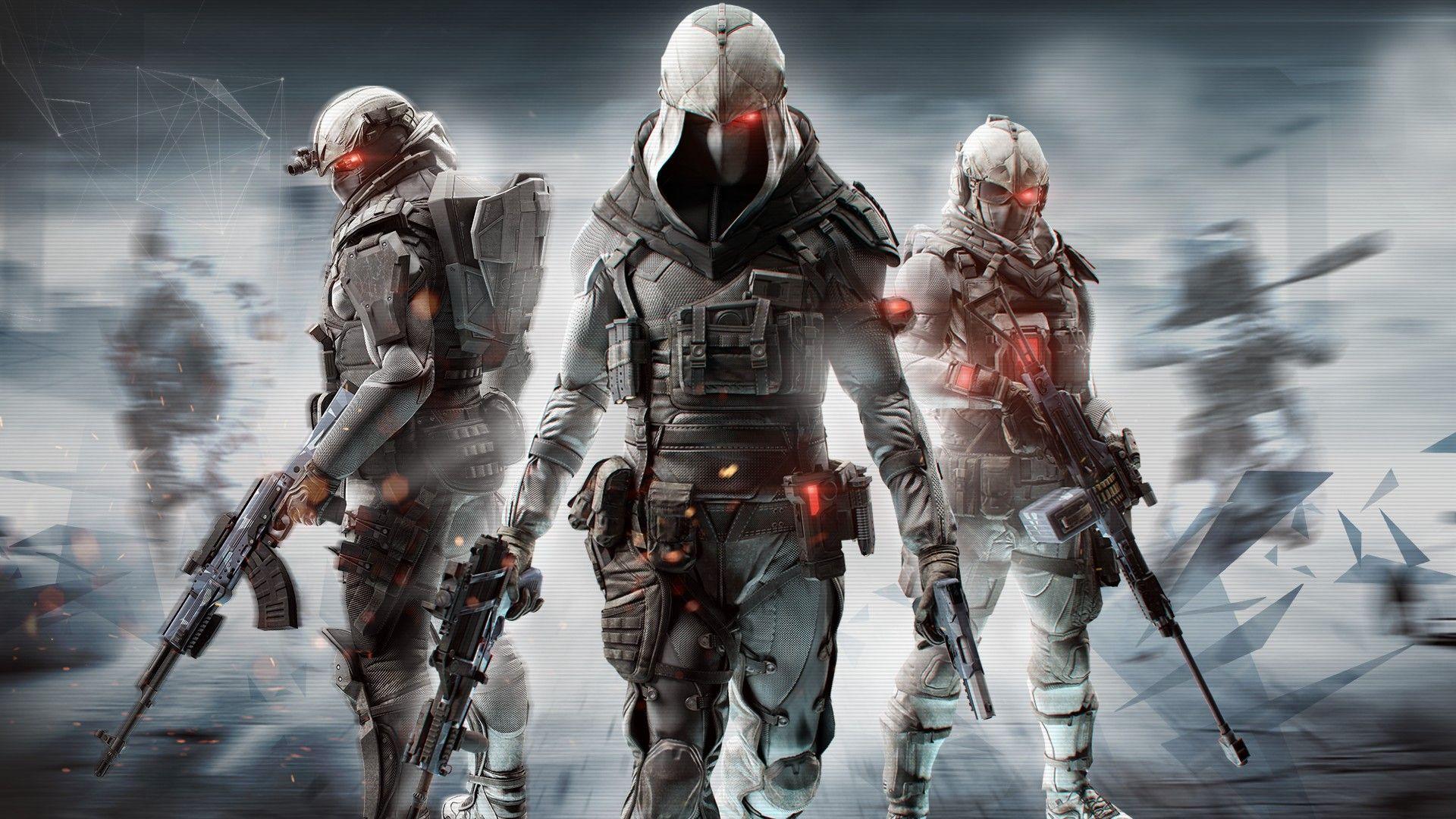 Video Game - Tom Clancy's Ghost Recon Phantoms Wallpaper | Video ...
