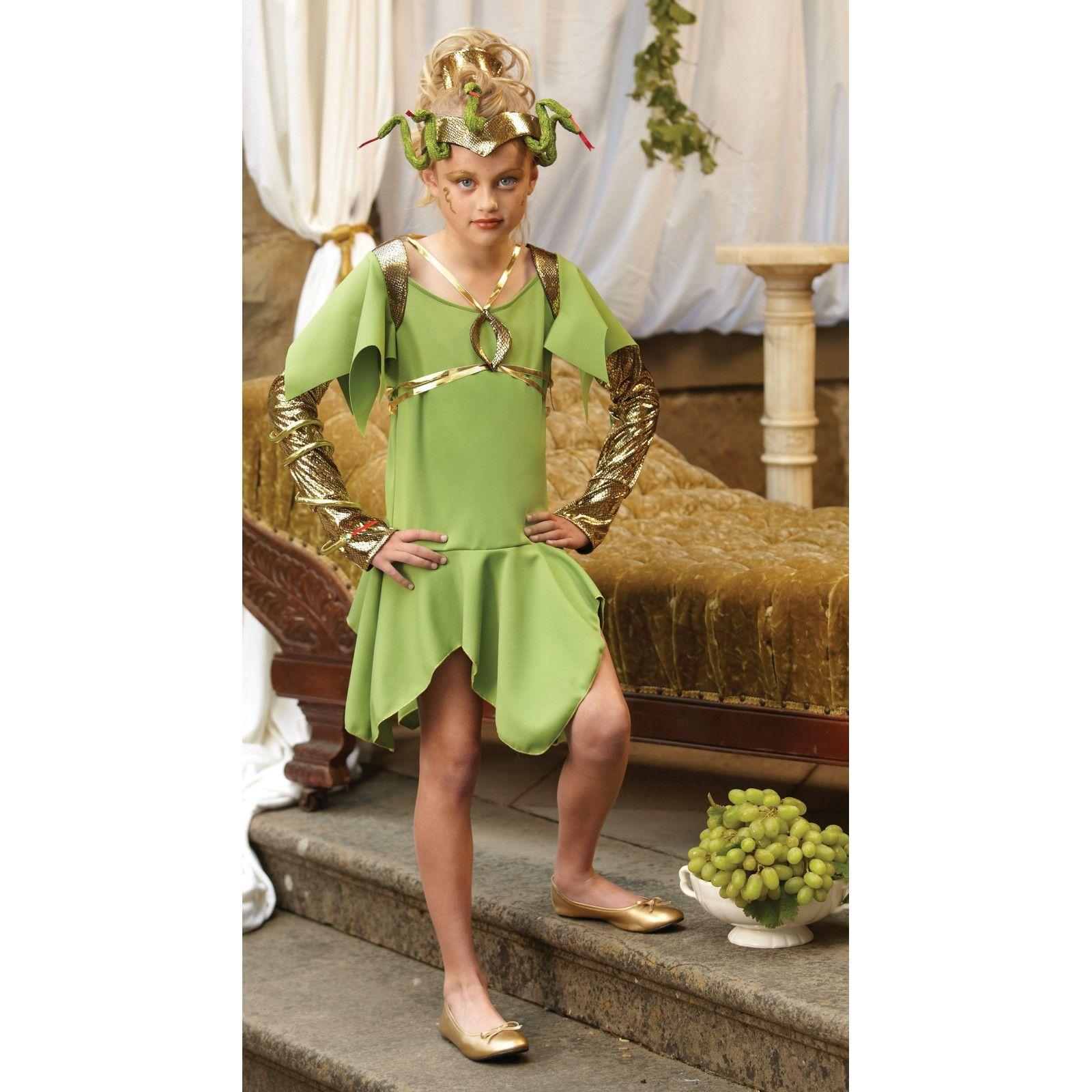 medusa kids costume 801419 - Medusa Halloween Costume Kids