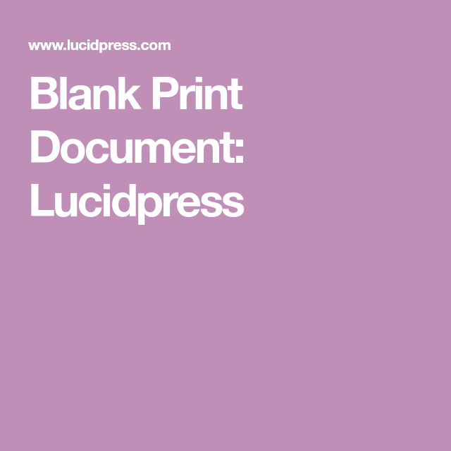 Blank Print Document Lucidpress Documents Print Wine Gums