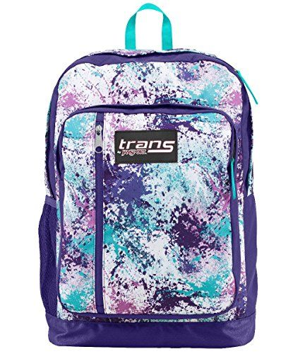 Trans By JanSport MegaHertz II Backpack (Purple/Multi) - (school ...