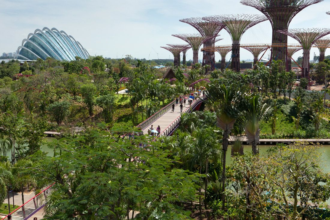 Gardens By The Bay Singapore Archdaily