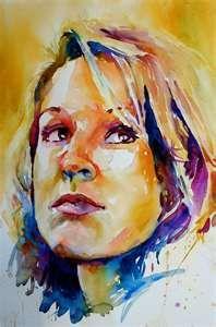 Long Live The Queen Watercolor Portrait Painting Watercolor