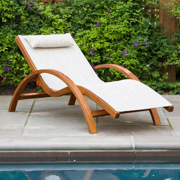 Amazing Leisure Season Sling Lounge Chair 63 X 27 X 28 Theyellowbook Wood Chair Design Ideas Theyellowbookinfo