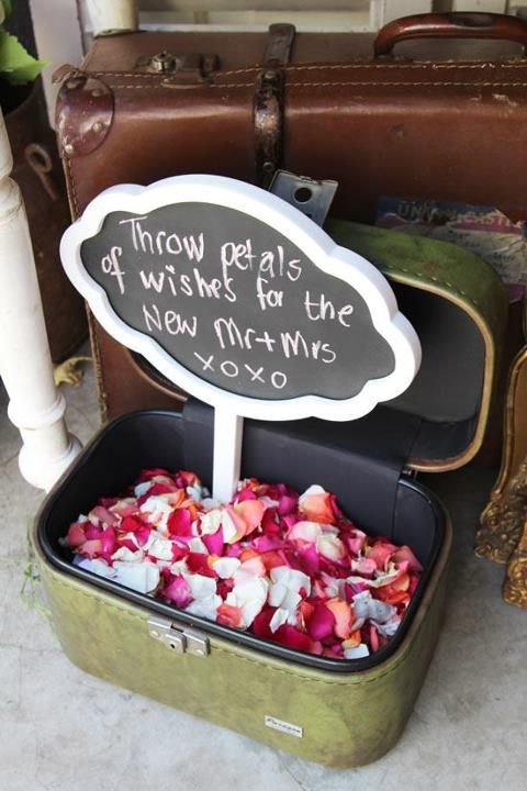 16 things to throw at the bride and groom   Facebook, Confetti and ...