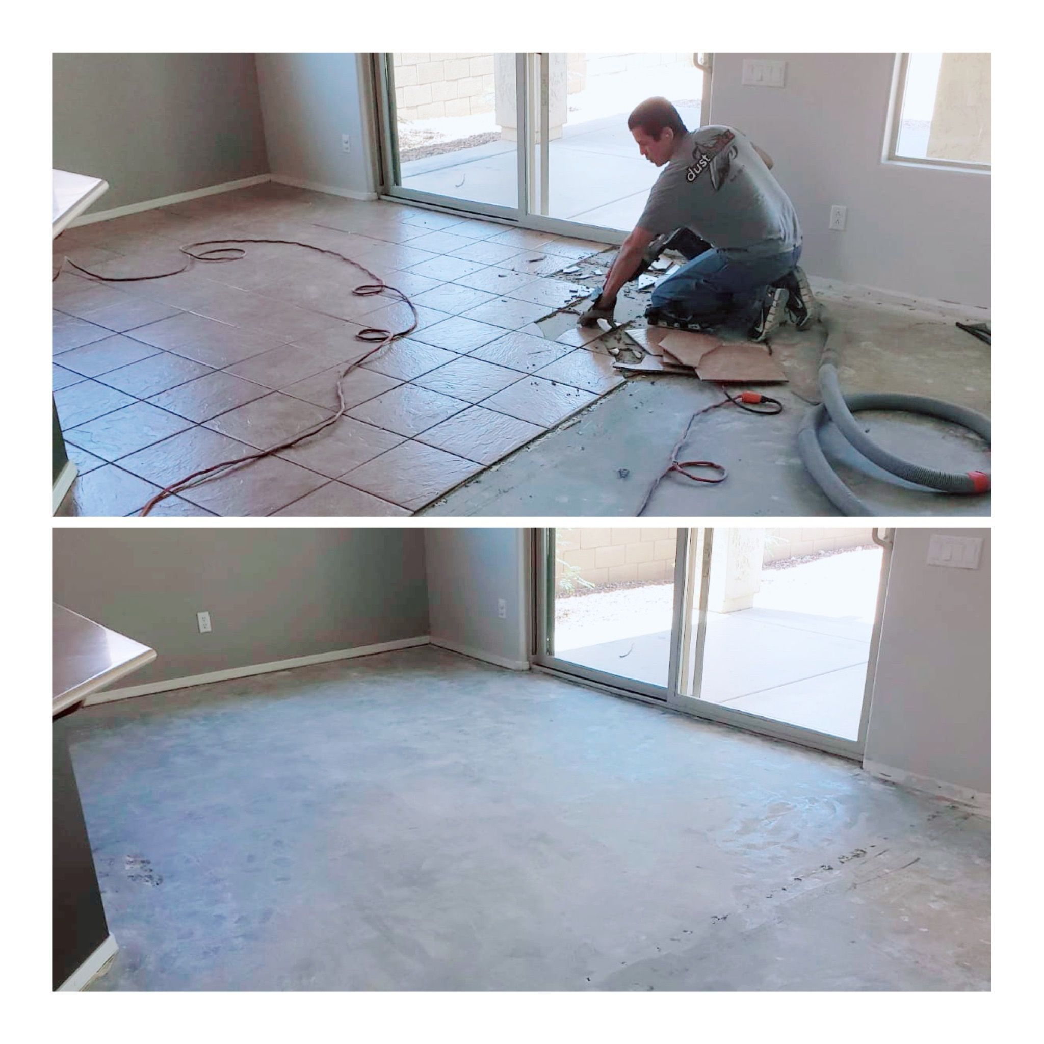 Dust Free Tile Removal Phoenix Tile Removal Tiles Dust Free