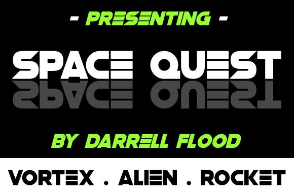 Space Quest Font | dafont com | FONTS | Fonts, Bold fonts, Premium fonts