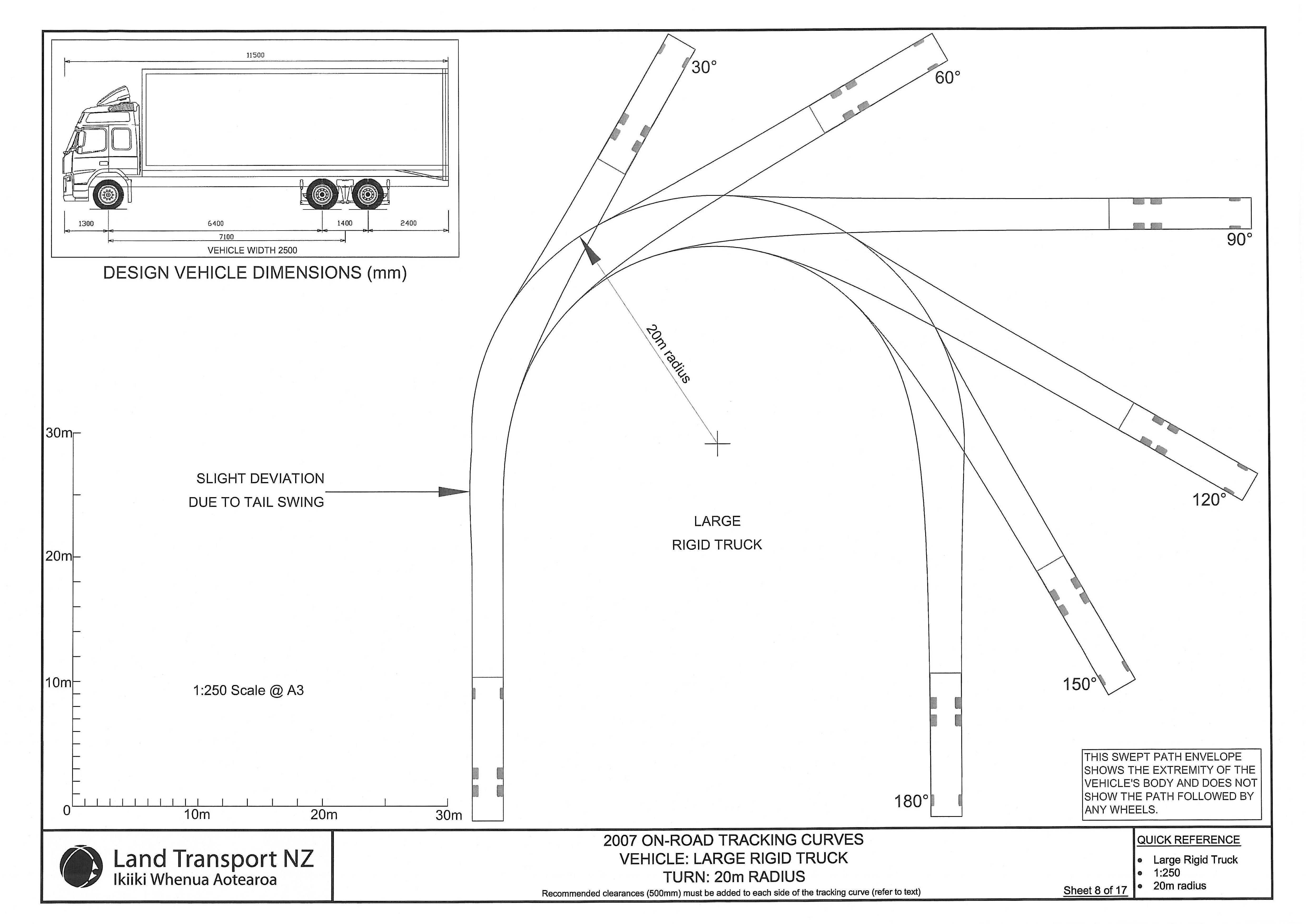 School Bus Turning Radius Diagram