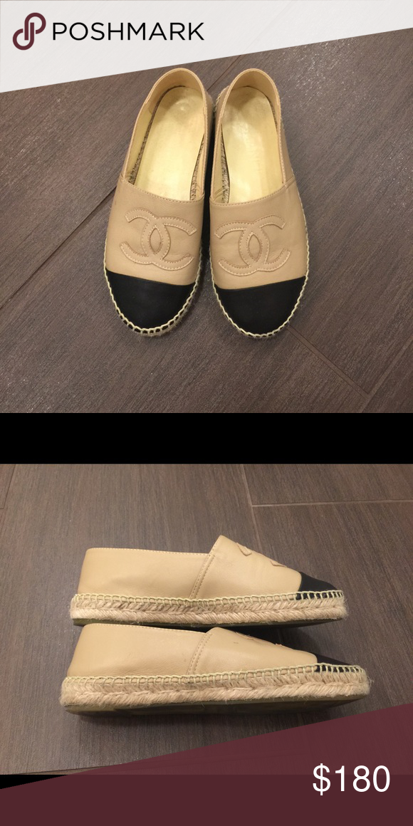 CHANEL espadrilles 36 leather good condition Good condition. Size 36 CHANEL Shoes Espadrilles