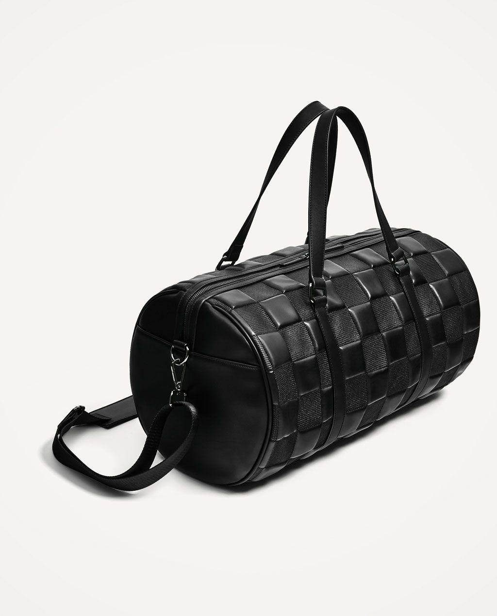 Image Sac ZaraMen Bags Noir 1 De Matelassé Bowling 9WD2YEIH