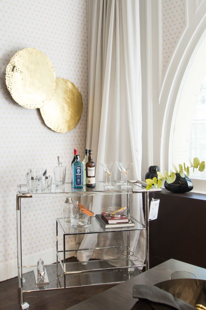 "Hello there, dream bar cart.   <p><a href=""http://www1.bloomingdales.com/shop/product/bloomingdales-chase-bar-cart?ID=557417&CategoryID=3865&cm_kws=557417"" target=""_blank"">Bloomingdale's Chase bar cart</a> // <a href=""http://www1.bloomingdales.com/shop/product/ralph-lauren-preston-ice-bucket-tongs?ID=1205474&CategoryID=3865#fn=spp%3D2%26ppp%3D180%26sp%3D1%26rid%3D%26spc%3D61%26cm_kws%3Dice bucket %26pn%3D1 "" target=""_blank"">Ralph Lauren ice bucket</a> // <a…"