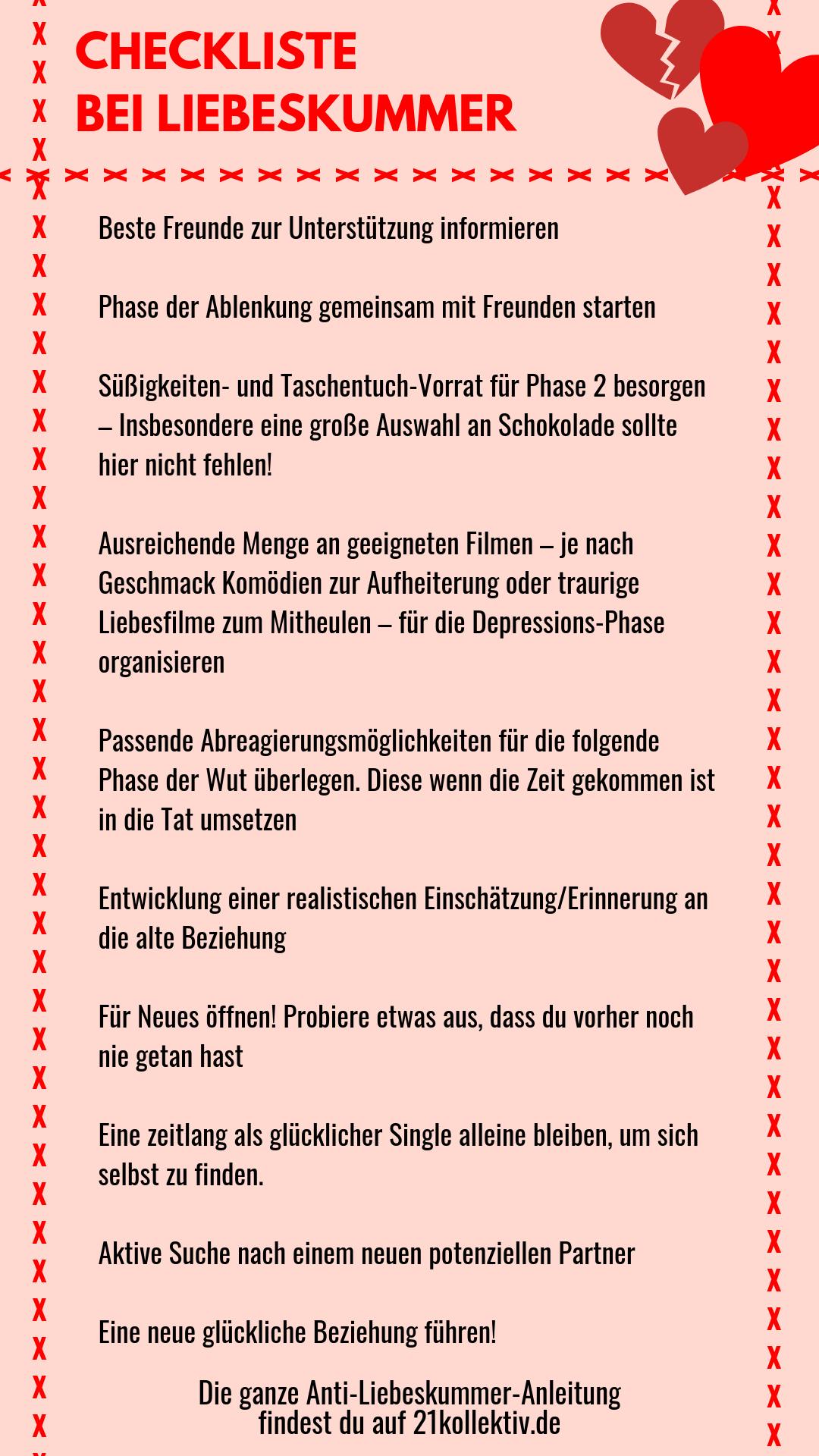 Gegen herzschmerz gedichte liebeskummer und Liebeskummer Forum