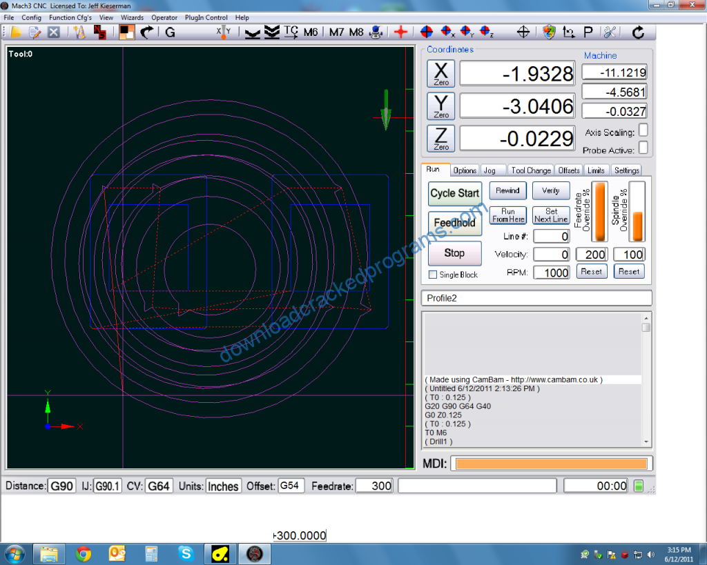 Download Cracked 2010 Screenset for Mach3 CNC Control Software Full