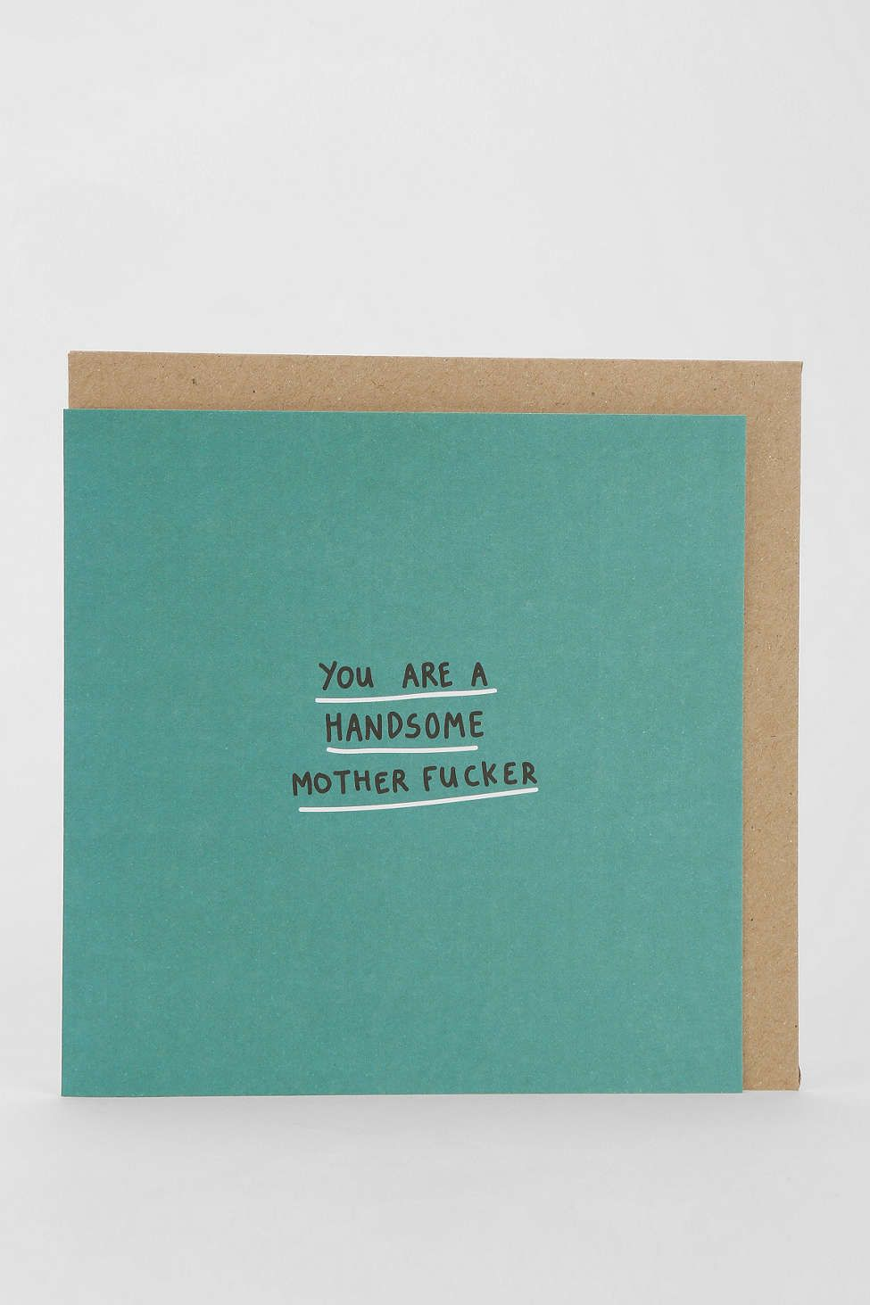 Lazy Oaf Handsome Mother Card Urban Outfitters Gifts